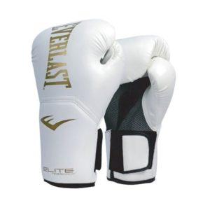 นวมชกมวย Elite Pro Style 14oz. White/White