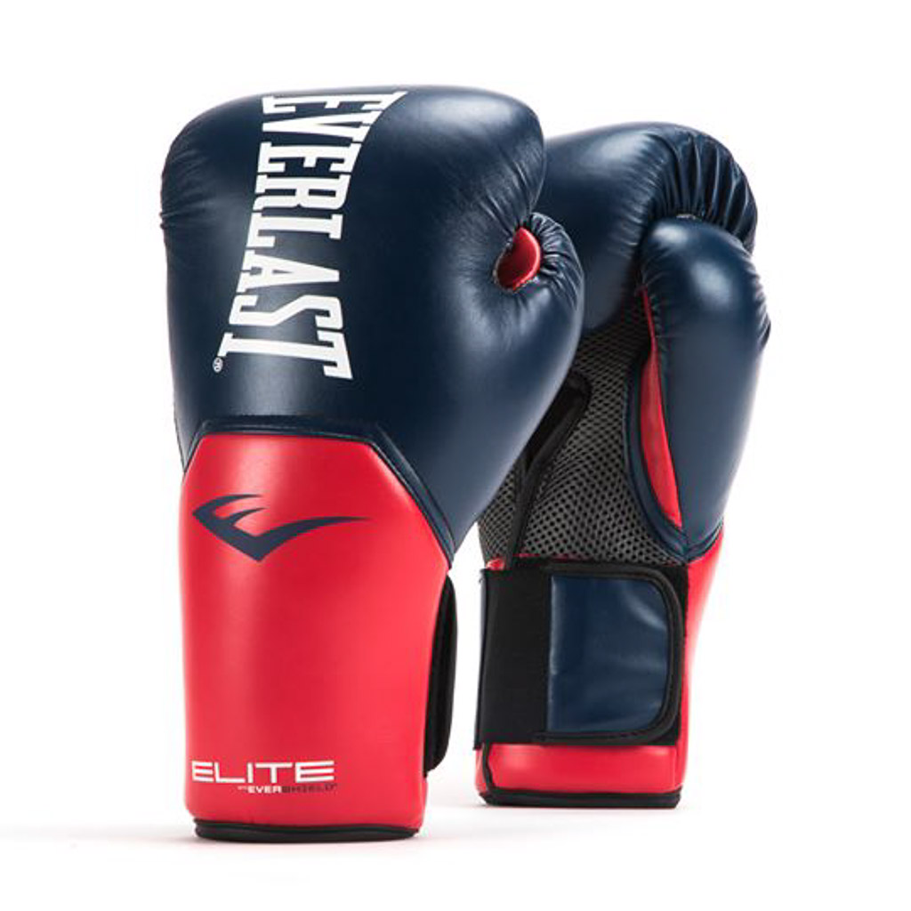 Everlast Pro Style Grappling Gloves Red